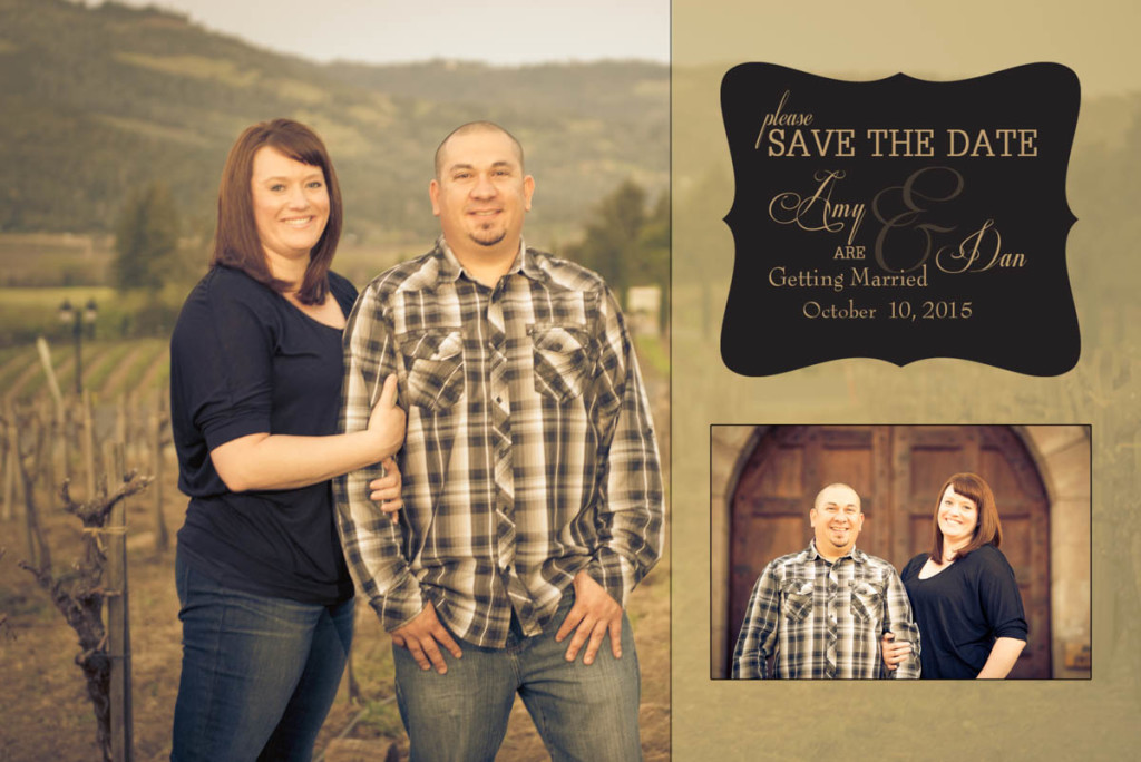 Engagement Save The Date